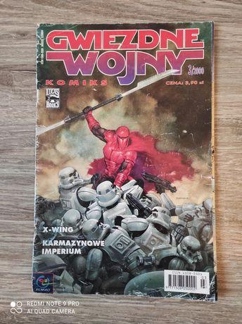 Komiks gwiezdne wojny