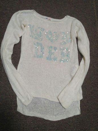 Свитер H&M кофточка на девочку 10-12 лет