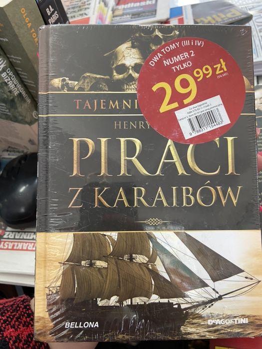 Tajemnice Historii nr 3 + 4 Piraci z Karaibow + Niewyjaśnione zagadki Białystok - image 1