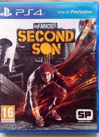 PS4. inFamous: Second Son. Диск, Обмін.
