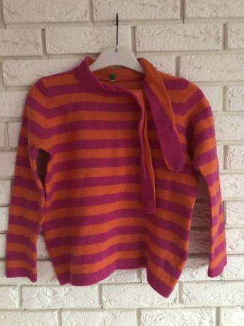 Sprzedam damski sweter z wiązaniem BENETTON