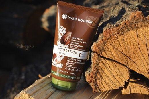 Yves Rocher ночной крем для волос