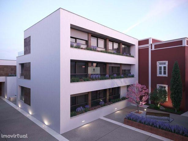 Duplex no centro de Faro com terraço e lugar de garagem