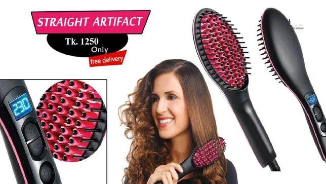 Расческа для выпрямления волос Fast hair HQT-906 Оригинал!