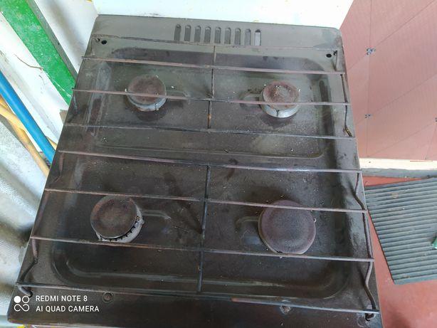 Газова плита в робочому стані