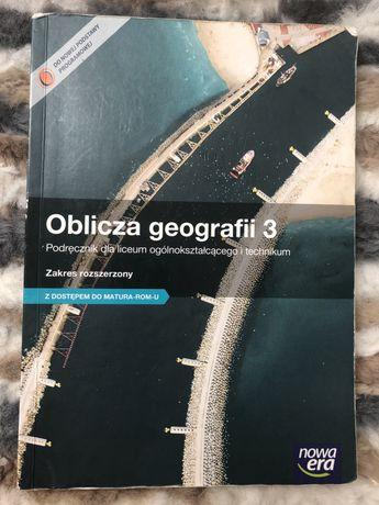 Oblicza geografii 3 podręcznik do geografii