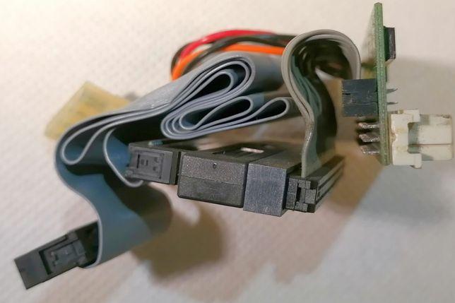 Komplet przejściówek SCSI adapter