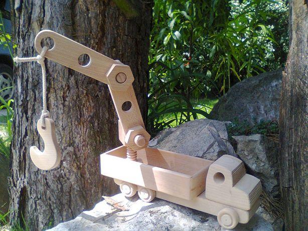 auto skręcane hds drewniane