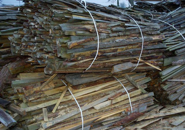 Drewno opałowe zrzyny obladry opóły