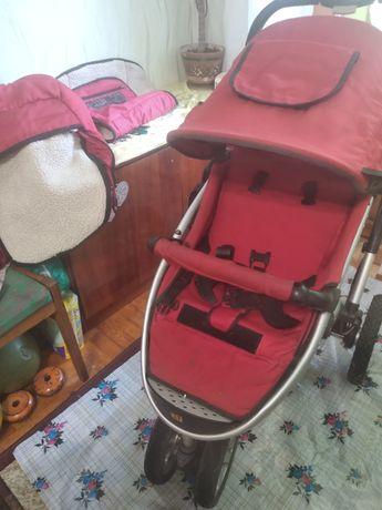 Детская прогулочная трёхколёсная коляскаGEOBY JOSS ГЕОБИ ДЖОСС