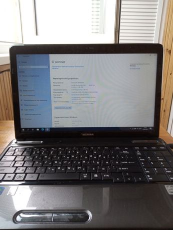 Продам ноутбук Toshiba l655 18n