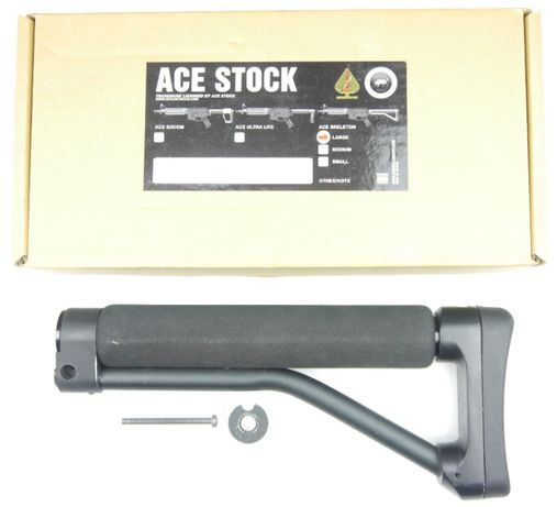 MadBull Kolba ACE Skeleton Stock - Długa - M4/M16 ASG