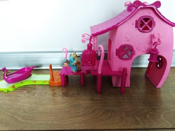 Kucyki Filly - magiczny domek z przystanią Simba + oryginalne pudełko