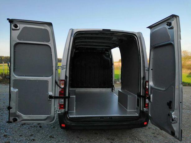 Zabudowa zmywalna wnętrza samochodu do Opel Movano L2H2