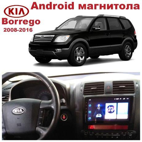Штатная магнитола KIA Borrego 2008-2016на базе Android 8.1 Киа Борего