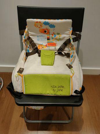 Cadeira de refeição de bebé portátil da Jané