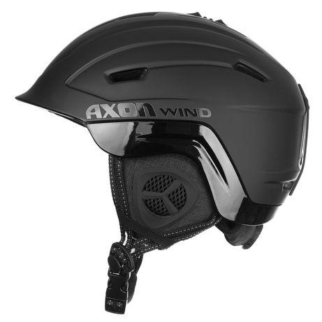 Шолом гірськолижний Axon wind Black