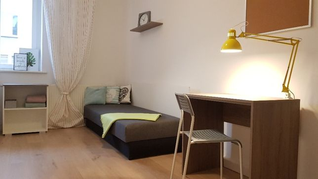 Single/Double Rooms for students in Katowice various locations