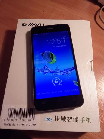 смартфон JiaYu G4 4,7 дюйма
