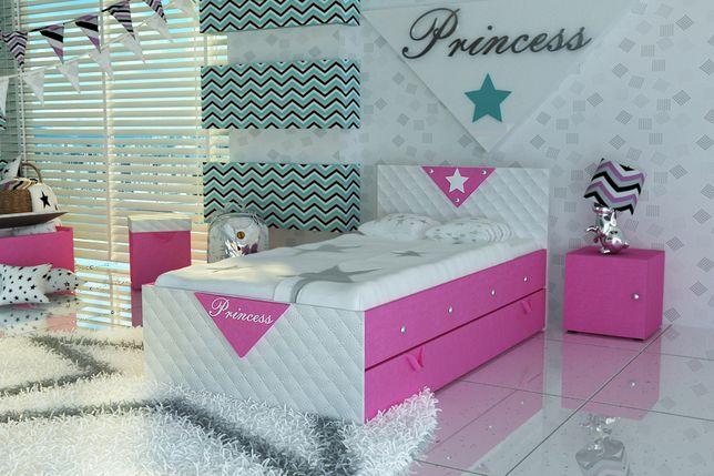 Bartoszyce-Łóżko dla dziecka z szufladą, Princess-Darmowa dostawa!!!