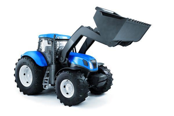 Traktor New Holland z łyżką