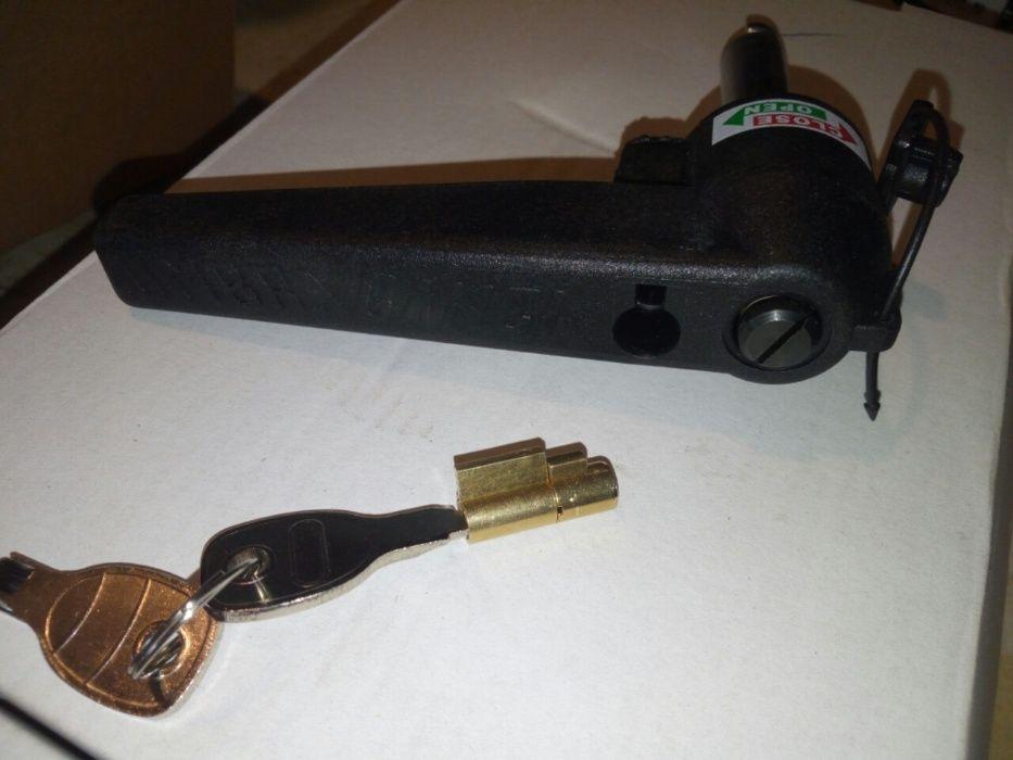 Canhão cadeado Anti-Roubo Engate de Reboque e Atrelados ou Caravanas Anadia - imagem 1