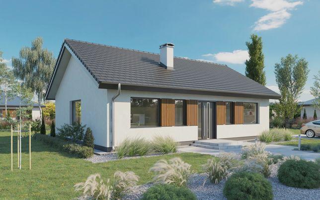 Projekt domu parterowego do 100m2 Rodzina na Swoim