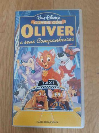 Filme Animação VHS Oliver e Seus Companheiros