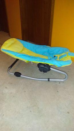 Cadeira de baloiço bebê