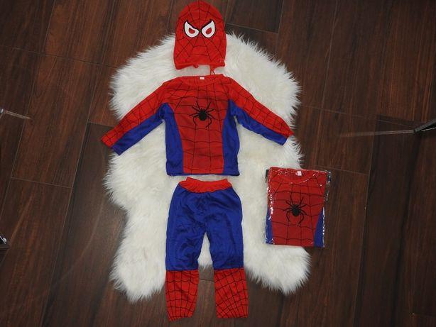 nowy 2-3 lat spiderman 3 części strój pająk superman batman