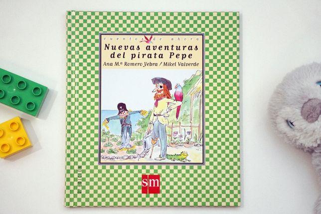 """""""El pirata Pepe"""" książeczka po hiszpańsku"""