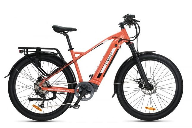 Rower elektryczny Overfly Bolt 27,5 14,5Ah pamasonic 1000cykli ład