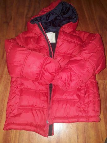 Пуховик, куртка красная , куртка подросток, пуховик 140 рост ,9-10 лет