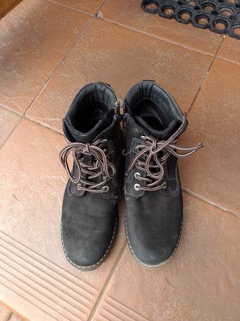 Buty zimowe Trapery chłopięce r.37