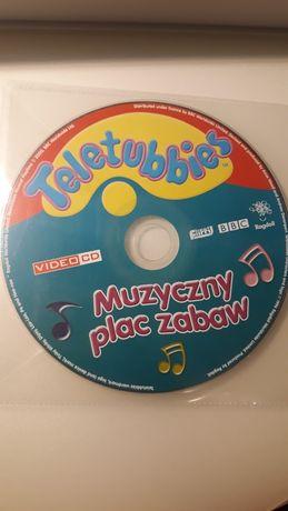 VCD Teletubbies. Muzyczny plac zabaw. Teletubisie. bajka dla dzieci.