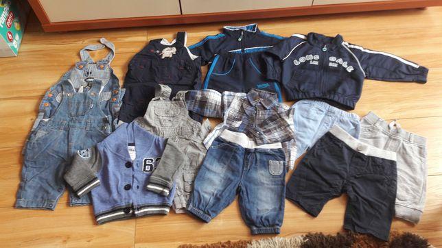 Paka ubrań dla chłopca rozmiar 56-62