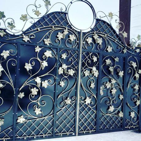 Гадяч кузня. ворота, двері,забори,балкони ,козерьки, та багато іншого
