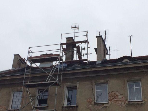 rusztowanie dachowe kominowe dekarskie
