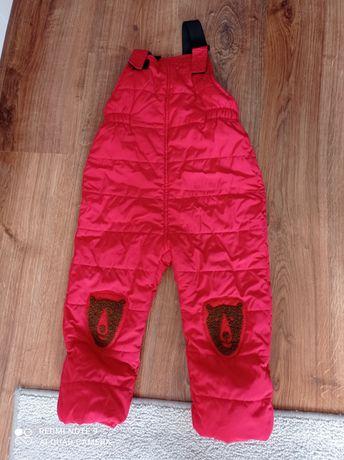 Spodnie zimowe, Zara rozmiar 104