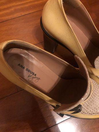 Sapatos mulher tacão