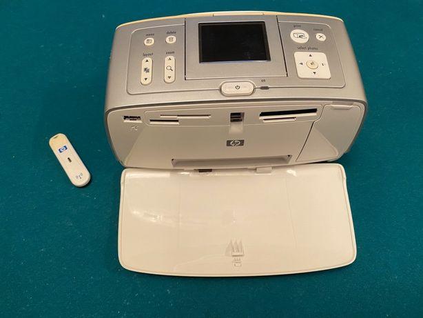 Impressora fotográfica hp Com cabo usb e pen Bluetooth