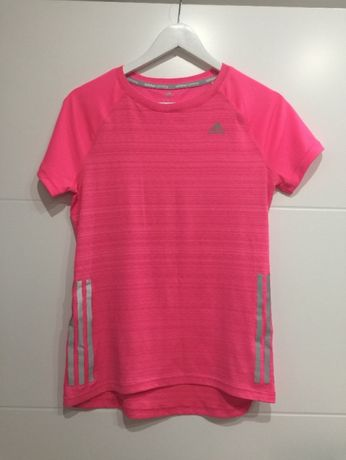 Koszulka Adidas różowa do ćwiczeń