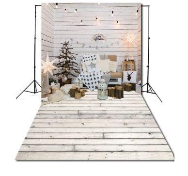 Śliczne tło świąteczne fotograficzne na święta 160x300
