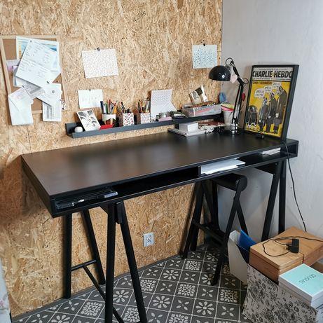 IKEA SPANST biurko+nogi+gratis