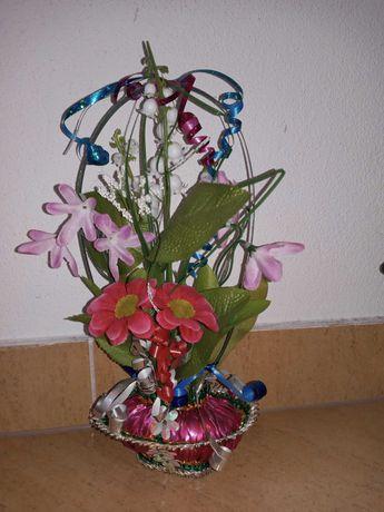 Koszyczki kwiatowe ręcznie robione