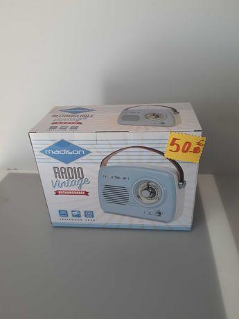 Rádios Vintage Novos