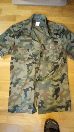 koszula wojskowa krótki rękaw MON rozm. 40/175