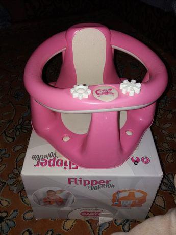 Фирменный итальянский стульчик для купания малыша