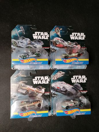 Hot wheels carships Star Wars