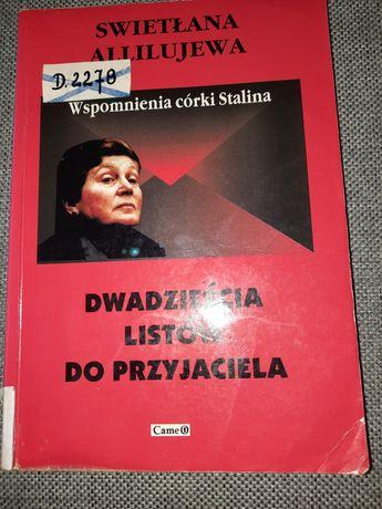 Dwadzieścia listów do przyjaciela Swietłana Allilujewa